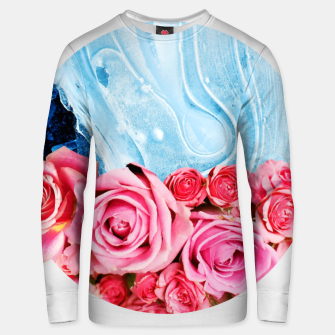 Thumbnail image of Unexpected Blossom Cotton sweater, Live Heroes