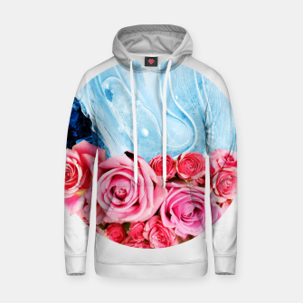 Thumbnail image of Unexpected Blossom Cotton hoodie, Live Heroes