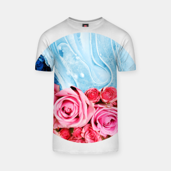 Thumbnail image of Unexpected Blossom T-shirt, Live Heroes