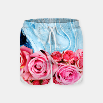Thumbnail image of Unexpected Blossom Swim Shorts, Live Heroes
