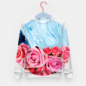 Thumbnail image of Unexpected Blossom Kid's sweater, Live Heroes