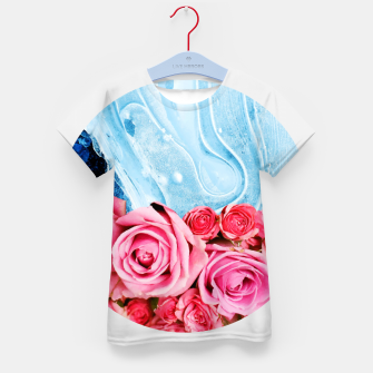 Thumbnail image of Unexpected Blossom Kid's t-shirt, Live Heroes
