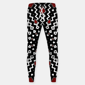 Thumbnail image of Hyperspace Kaleidoscope Womens Sweatpants, Live Heroes