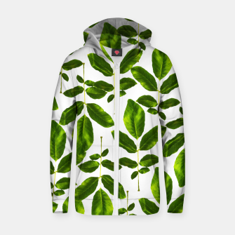 Natural Cure Cotton zip up hoodie thumbnail image