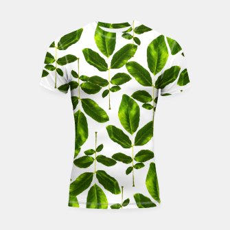 Thumbnail image of Natural Cure Shortsleeve rashguard, Live Heroes