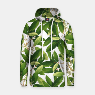 Thumbnail image of Greenery Cotton hoodie, Live Heroes