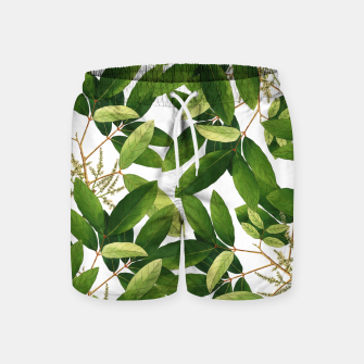 Thumbnail image of Greenery Swim Shorts, Live Heroes