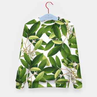 Thumbnail image of Greenery Kid's sweater, Live Heroes