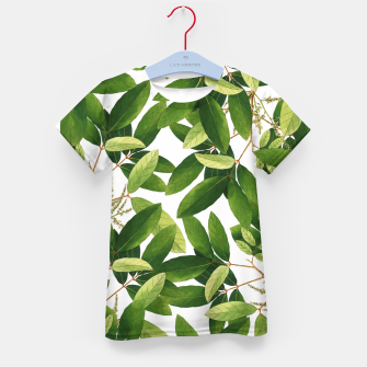 Thumbnail image of Greenery Kid's t-shirt, Live Heroes