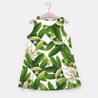 Thumbnail image of Greenery Girl's summer dress, Live Heroes