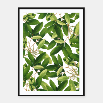 Thumbnail image of Greenery Framed poster, Live Heroes