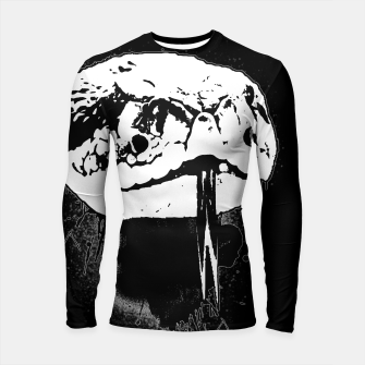 Thumbnail image of gxp klapperschlange nahaufnahme rattlesnake close up spray art sprühkunst graffiti Longsleeve rashguard, Live Heroes
