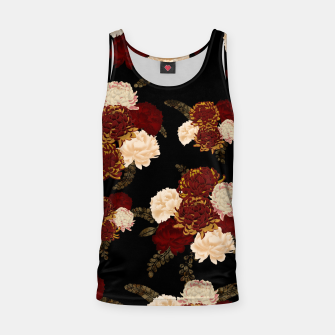 Thumbnail image of Japanese style flower art chrysanthemum and peony Tank Top, Live Heroes
