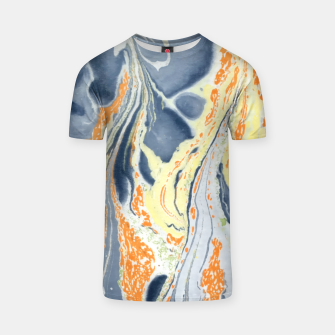 Thumbnail image of Erupting Lava Marbling |  T-shirt, Live Heroes