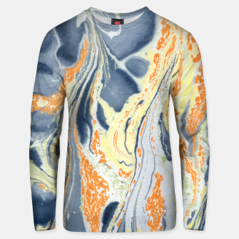 Thumbnail image of Erupting Lava Marbling |  Cotton sweater, Live Heroes