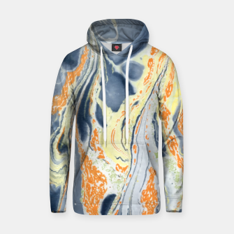 Thumbnail image of Erupting Lava Marbling |  Cotton hoodie, Live Heroes