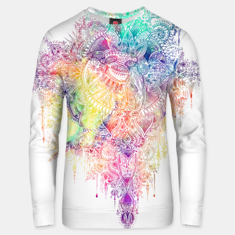 "Miniaturka Heart in Colorful Galaxy Mandala - ""faith"" Cotton sweater, Live Heroes"