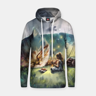 Thumbnail image of The second story Cotton hoodie, Live Heroes