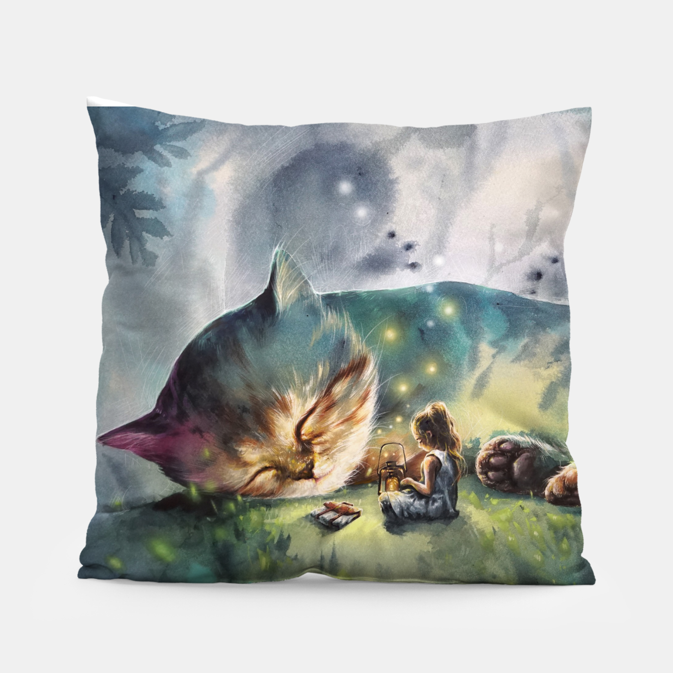 Image of The second story Pillow - Live Heroes
