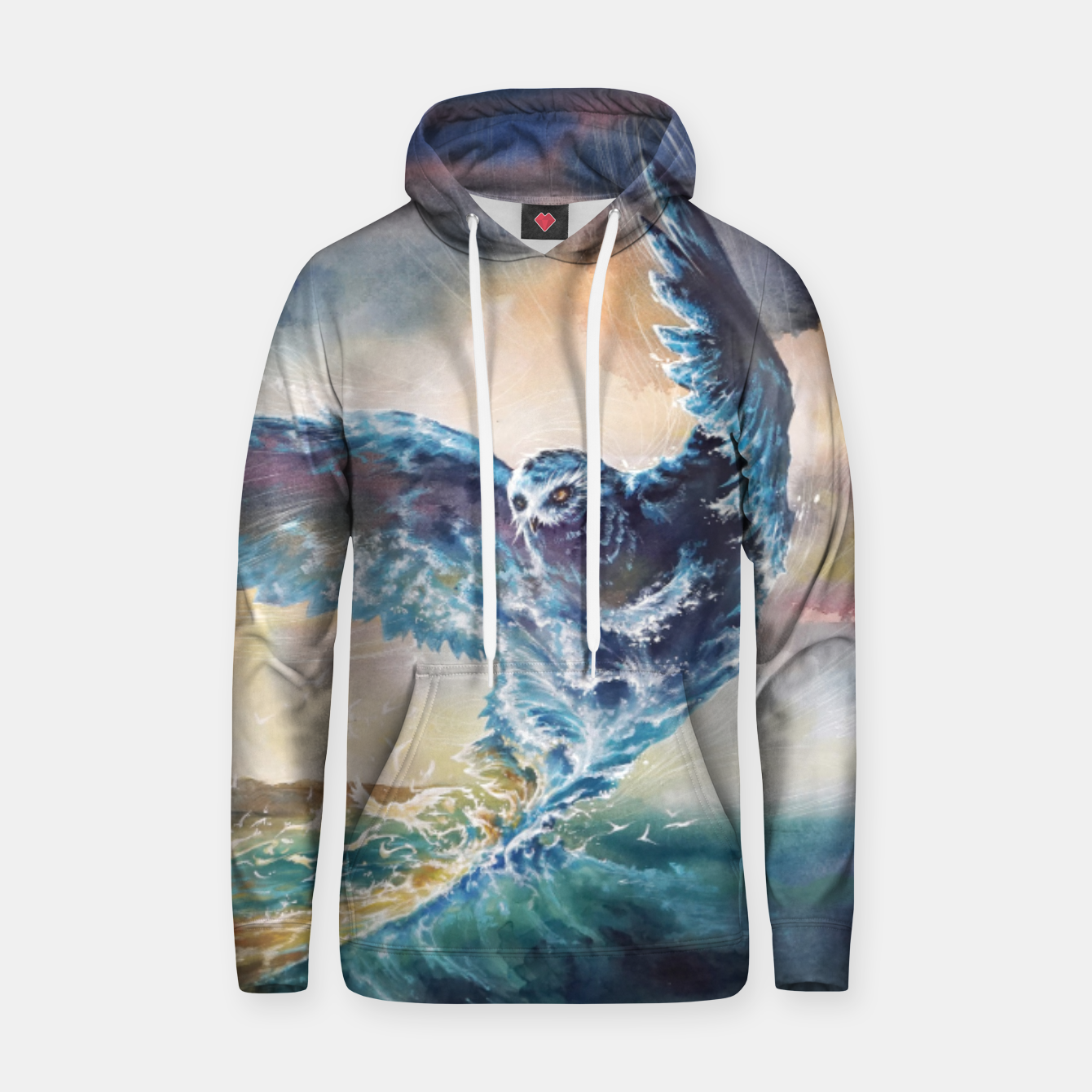 Image of The third story Cotton hoodie - Live Heroes