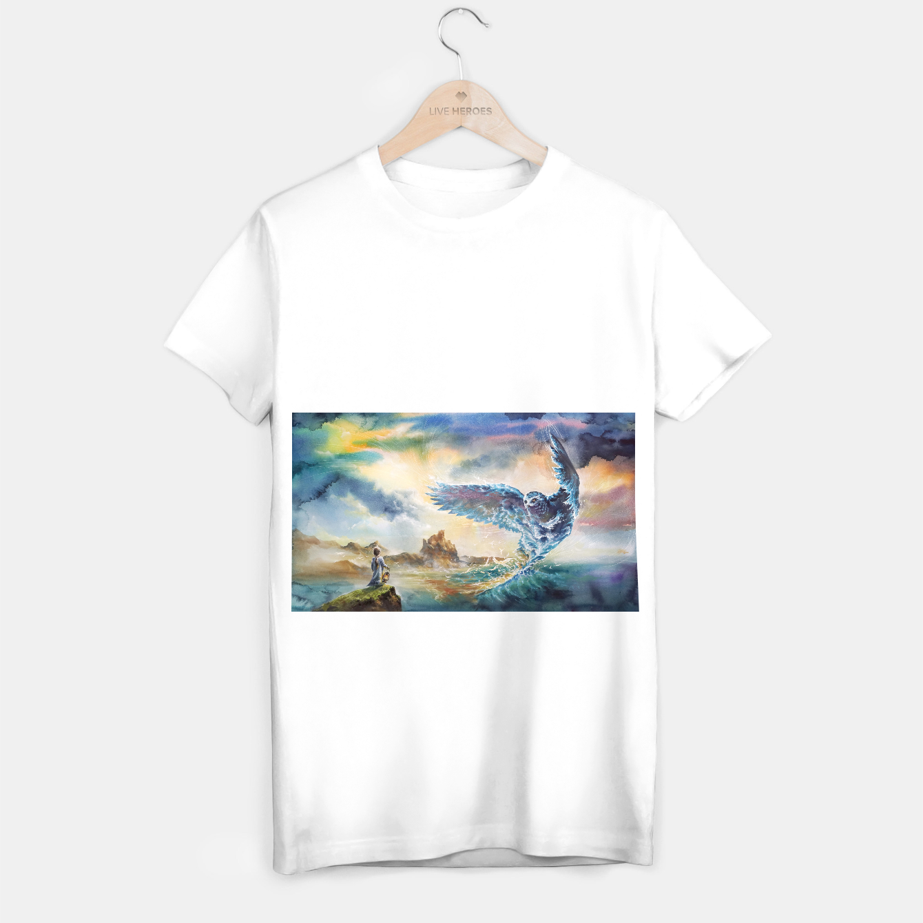 Image of The third story T-shirt regular - Live Heroes