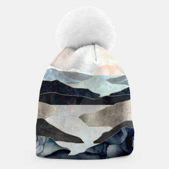 Thumbnail image of Blue Mountain Lake Beanie, Live Heroes