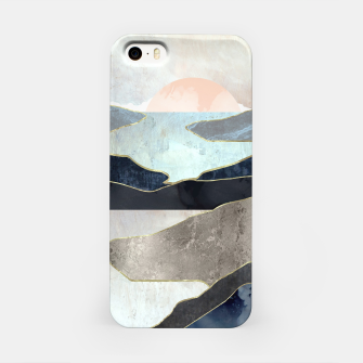 Thumbnail image of Blue Mountain Lake iPhone Case, Live Heroes