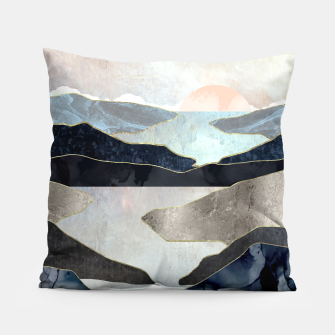 Thumbnail image of Blue Mountain Lake Pillow, Live Heroes