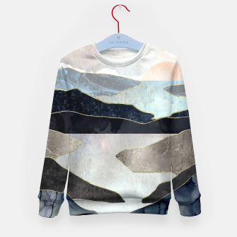 Thumbnail image of Blue Mountain Lake Kid's sweater, Live Heroes