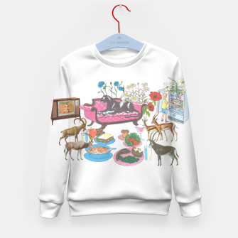 Black Panther and Friends Kid's sweater Bild der Miniatur