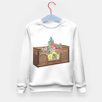 Thumbnail image of Vintage Television Kid's sweater, Live Heroes