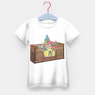 Thumbnail image of Vintage Television Kid's t-shirt, Live Heroes