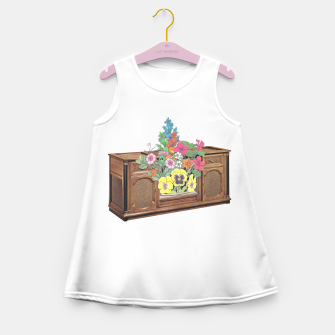 Thumbnail image of Vintage Television Girl's summer dress, Live Heroes