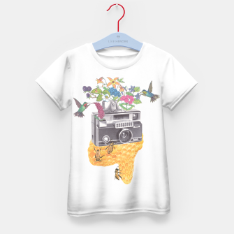 Thumbnail image of Vintage Camera Kid's t-shirt, Live Heroes