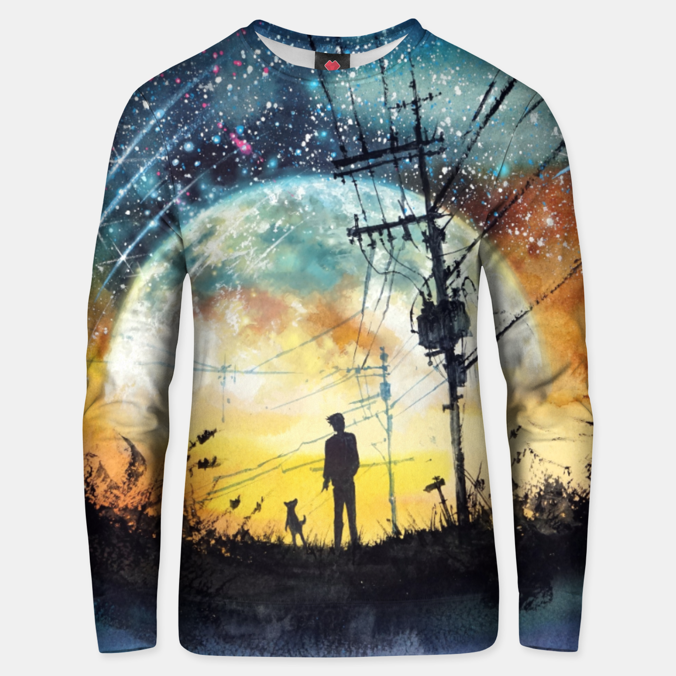 Image of Go Home Cotton sweater - Live Heroes