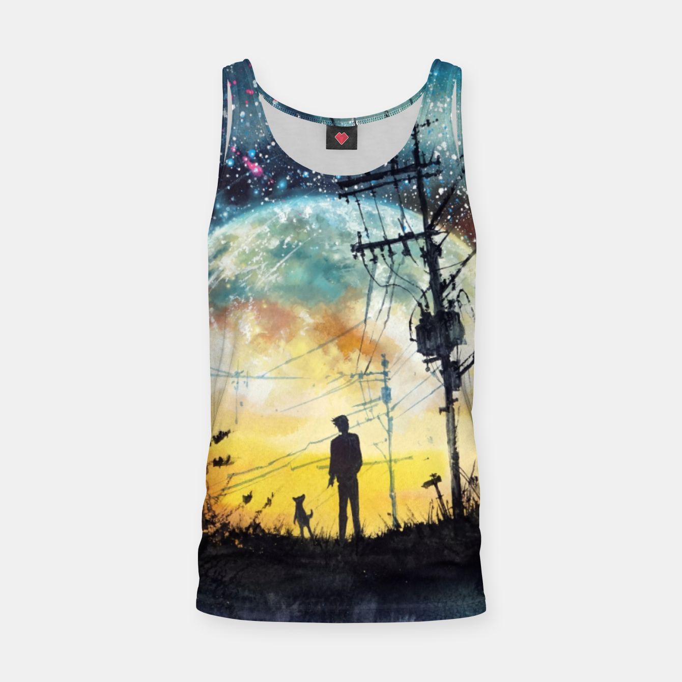 Image of Go Home Tank Top - Live Heroes