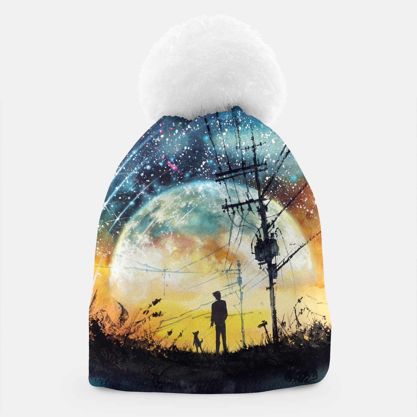 Image of Go Home Beanie - Live Heroes