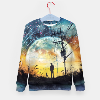 Thumbnail image of Go Home Kid's sweater, Live Heroes