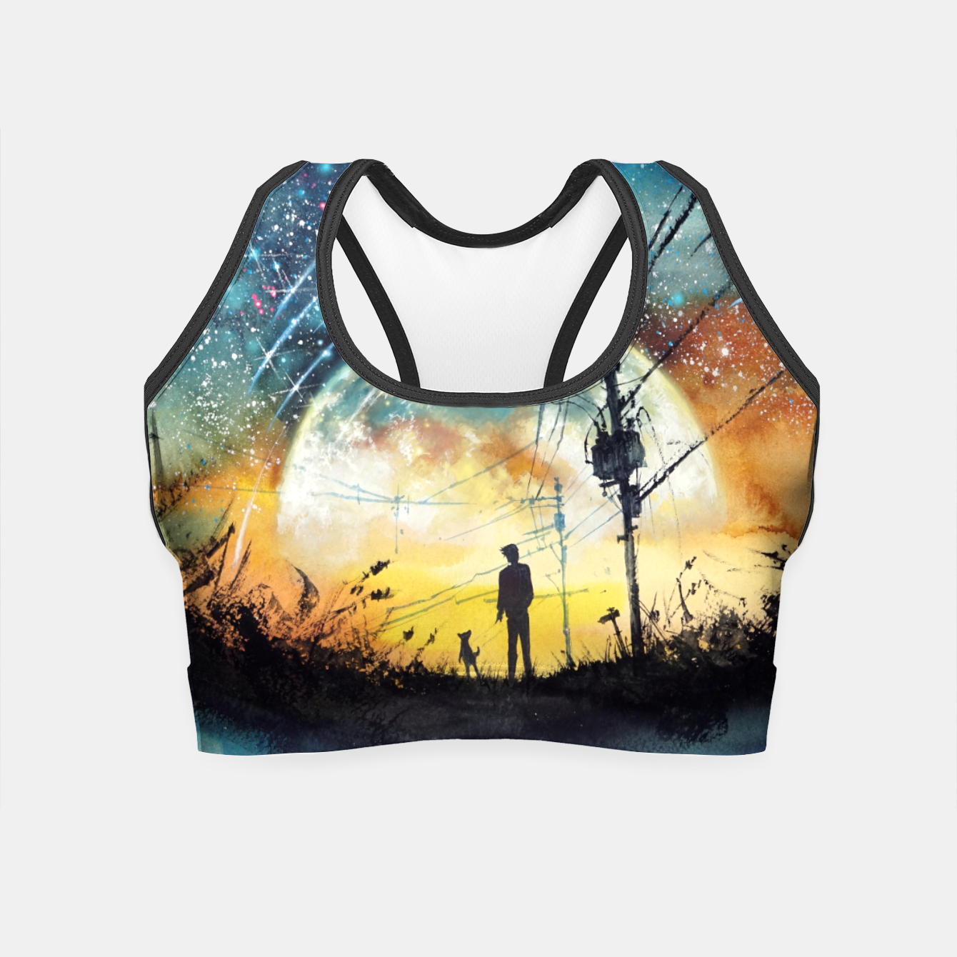 Image of Go Home Crop Top - Live Heroes