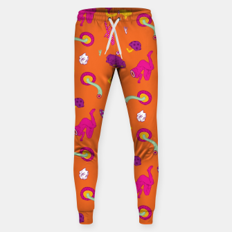 Thumbnail image of  Mushrooms of Alice Cotton sweatpants, Live Heroes