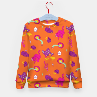 Thumbnail image of  Mushrooms of Alice Kid's sweater, Live Heroes