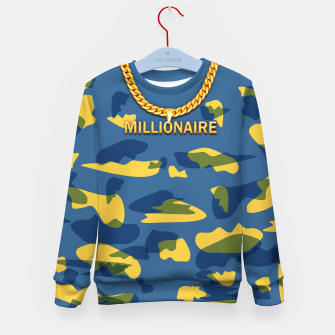 Thumbnail image of Millionaire Kid's sweater, Live Heroes
