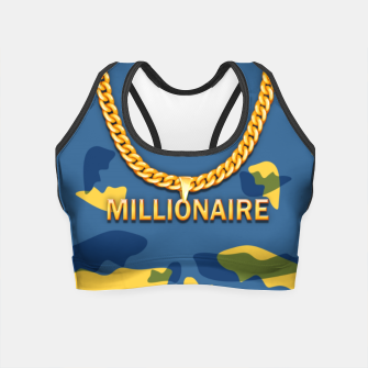 Thumbnail image of Millionaire Crop Top, Live Heroes