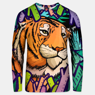 Imagen en miniatura de tiger in the undergrowth  Cotton sweater, Live Heroes