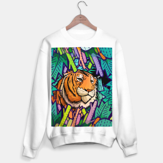 Imagen en miniatura de tiger in the undergrowth  Sweater regular, Live Heroes