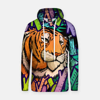 Imagen en miniatura de tiger in the undergrowth  Cotton hoodie, Live Heroes