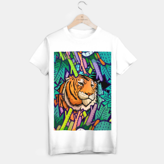 Imagen en miniatura de tiger in the undergrowth  T-shirt regular, Live Heroes
