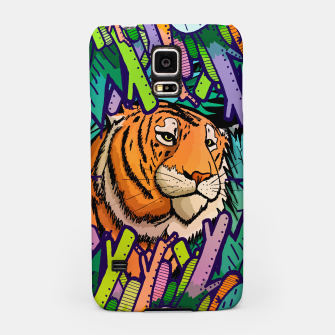 Imagen en miniatura de tiger in the undergrowth  Samsung Case, Live Heroes