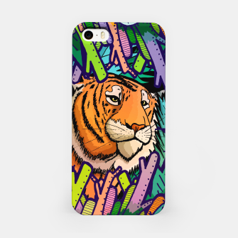 Imagen en miniatura de tiger in the undergrowth  iPhone Case, Live Heroes