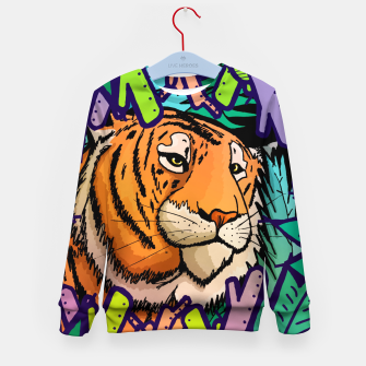 Imagen en miniatura de tiger in the undergrowth  Kid's sweater, Live Heroes